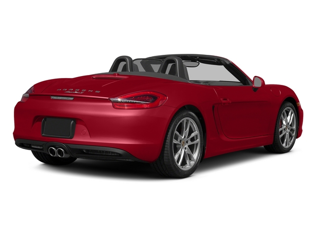 Carmine Red 2015 Porsche Boxster Pictures Boxster Roadster 2D GTS H6 photos rear view
