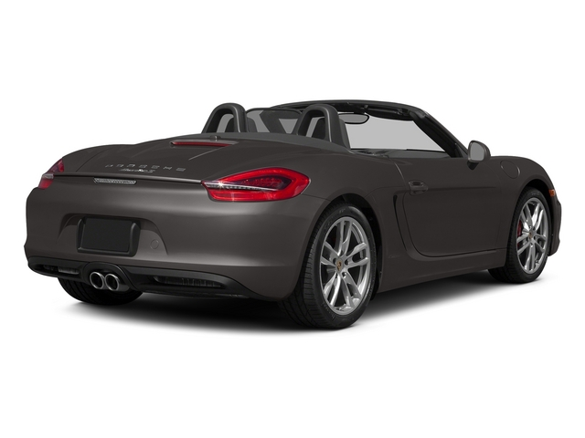 Anthracite Brown Metallic 2015 Porsche Boxster Pictures Boxster Roadster 2D GTS H6 photos rear view
