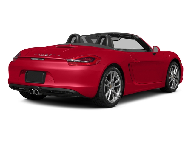 Guards Red 2015 Porsche Boxster Pictures Boxster Roadster 2D GTS H6 photos rear view