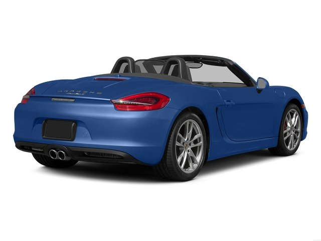 Sapphire Blue Metallic 2015 Porsche Boxster Pictures Boxster Roadster 2D GTS H6 photos rear view