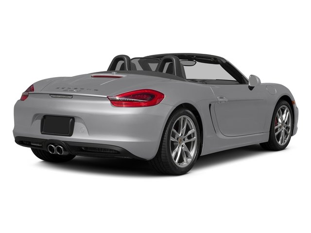 GT Silver Metallic 2015 Porsche Boxster Pictures Boxster Roadster 2D GTS H6 photos rear view