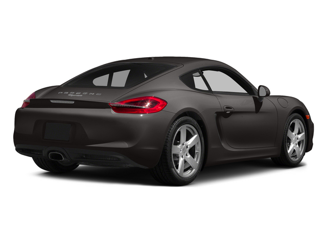 Anthracite Brown Metallic 2015 Porsche Cayman Pictures Cayman Coupe 2D H6 photos rear view