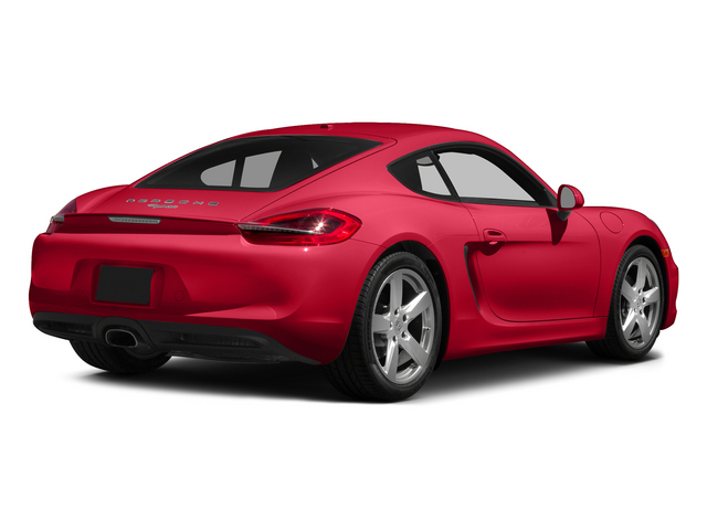 Guards Red 2015 Porsche Cayman Pictures Cayman Coupe 2D H6 photos rear view