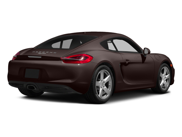 Mahogany Metallic 2015 Porsche Cayman Pictures Cayman Coupe 2D H6 photos rear view