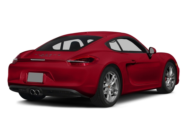 Carmine Red 2015 Porsche Cayman Pictures Cayman Coupe 2D GTS H6 photos rear view