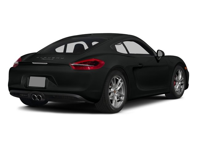 Jet Black Metallic 2015 Porsche Cayman Pictures Cayman Coupe 2D GTS H6 photos rear view