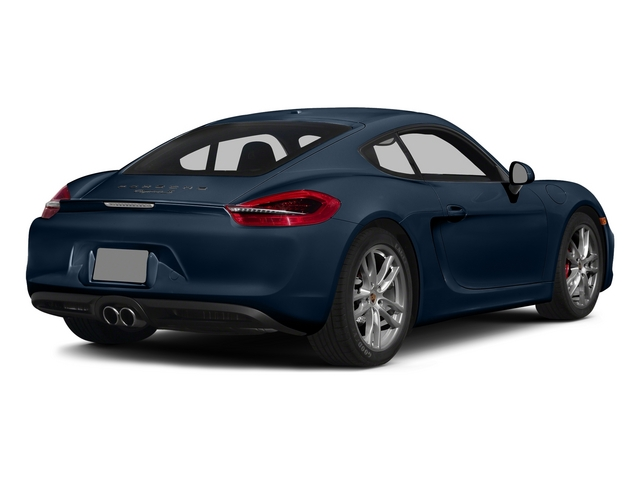 Dark Blue Metallic 2015 Porsche Cayman Pictures Cayman Coupe 2D GTS H6 photos rear view