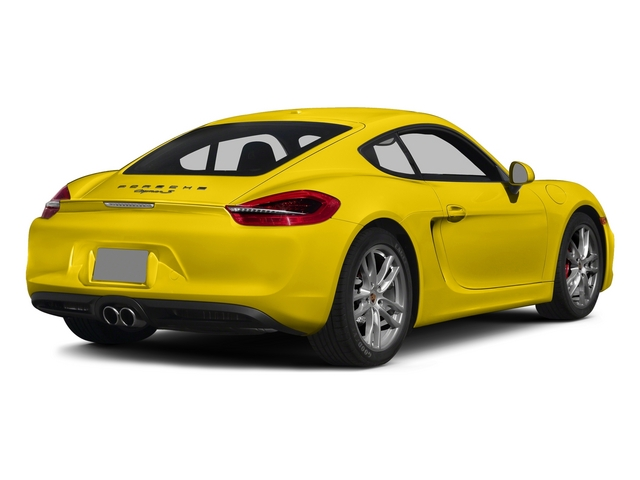 Racing Yellow 2015 Porsche Cayman Pictures Cayman Coupe 2D GTS H6 photos rear view