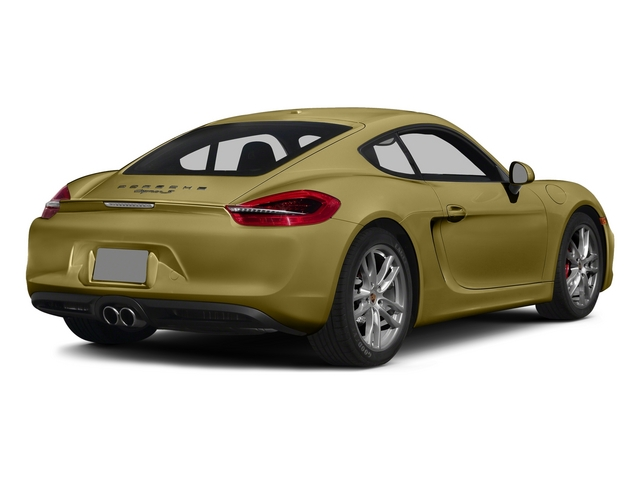 Lime Gold Metallic 2015 Porsche Cayman Pictures Cayman Coupe 2D GTS H6 photos rear view