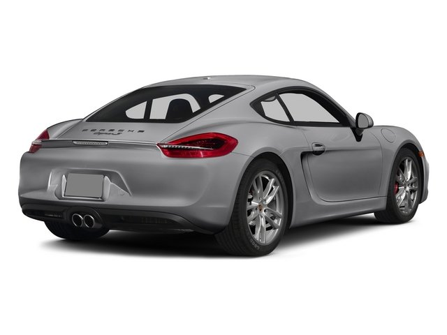 GT Silver Metallic 2015 Porsche Cayman Pictures Cayman Coupe 2D GTS H6 photos rear view