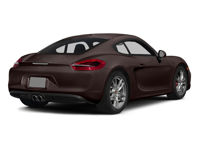 Mahogany Metallic 2015 Porsche Cayman Pictures Cayman Coupe 2D GTS H6 photos rear view