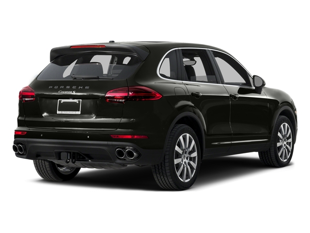 Jet Black Metallic 2015 Porsche Cayenne Pictures Cayenne Utility 4D AWD V8 Turbo photos rear view