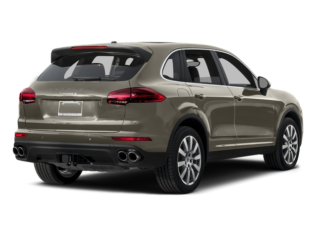Palladium Metallic 2015 Porsche Cayenne Pictures Cayenne Utility 4D AWD V6 T-Diesel photos rear view