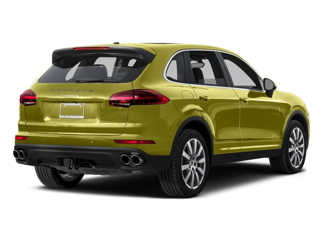 Peridot Metallic 2015 Porsche Cayenne Pictures Cayenne Utility 4D AWD V8 Turbo photos rear view