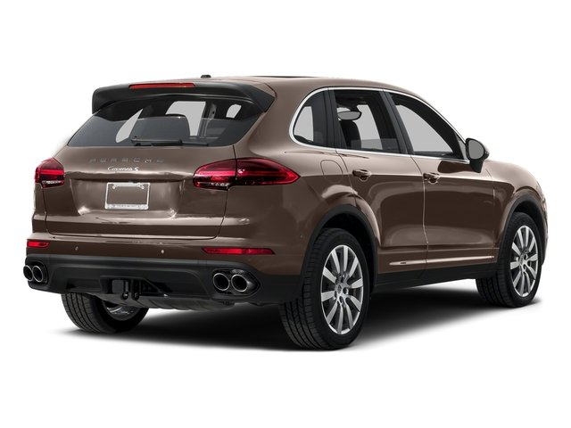 Umber Metallic 2015 Porsche Cayenne Pictures Cayenne Utility 4D AWD V6 T-Diesel photos rear view
