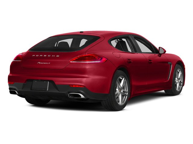 Carmine Red 2015 Porsche Panamera Pictures Panamera Hatchback 4D H6 photos rear view