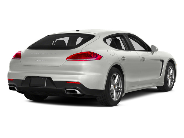 White 2015 Porsche Panamera Pictures Panamera Hatchback 4D 4 AWD H6 photos rear view