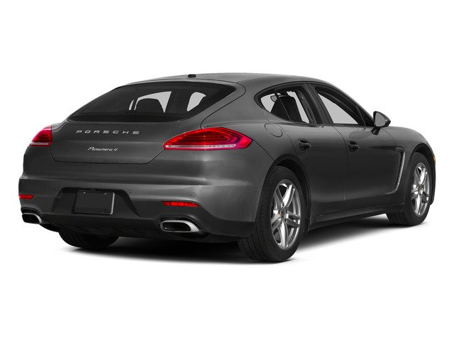 Carbon Gray Metallic 2015 Porsche Panamera Pictures Panamera Hatchback 4D 4 AWD H6 photos rear view