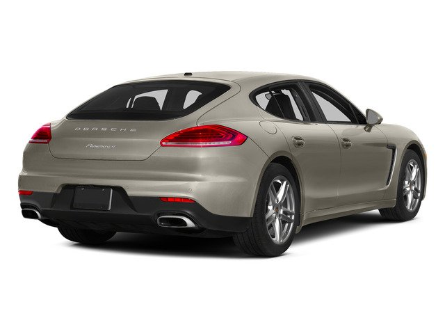Palladium Metallic 2015 Porsche Panamera Pictures Panamera Hatchback 4D S Exec AWD V8 Turbo photos rear view