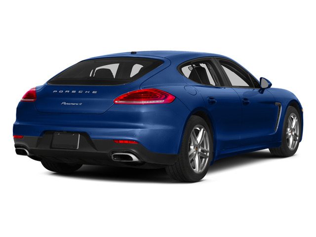 Sapphire Blue Metallic 2015 Porsche Panamera Pictures Panamera Hatchback 4D S Exec AWD V8 Turbo photos rear view