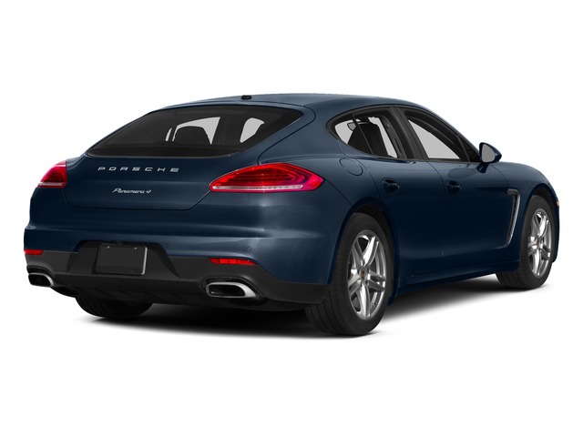 Dark Blue Metallic 2015 Porsche Panamera Pictures Panamera Hatchback 4D H6 photos rear view
