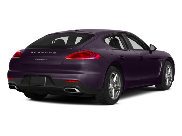 Amethyst Metallic 2015 Porsche Panamera Pictures Panamera Hatchback 4D S Exec AWD V8 Turbo photos rear view