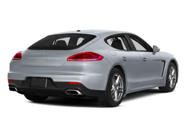 Rhodium Silver Metallic 2015 Porsche Panamera Pictures Panamera Hatchback 4D H6 photos rear view