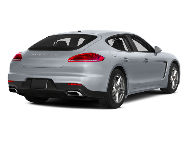 Rhodium Silver Metallic 2015 Porsche Panamera Pictures Panamera Hatchback 4D 4 AWD H6 photos rear view