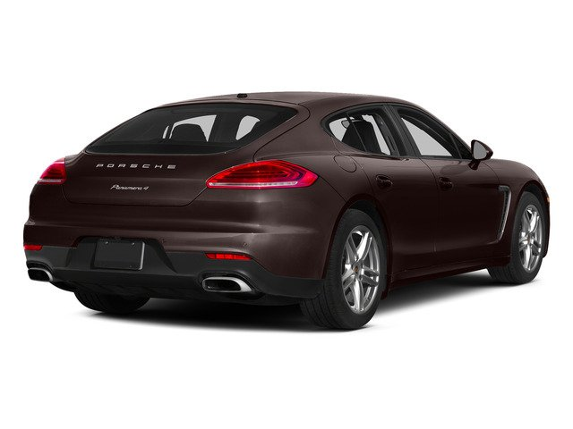 Mahogany Metallic 2015 Porsche Panamera Pictures Panamera Hatchback 4D S Exec AWD V8 Turbo photos rear view