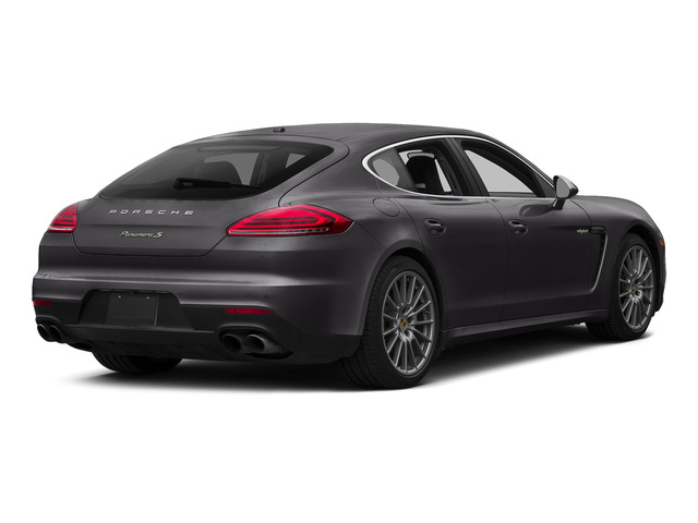 Carbon Gray Metallic 2015 Porsche Panamera Pictures Panamera Hatchback 4D S e-Hybrid V6 photos rear view