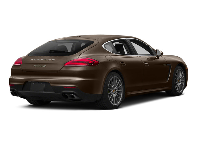 Chestnut Brown Metallic 2015 Porsche Panamera Pictures Panamera Hatchback 4D S e-Hybrid V6 photos rear view