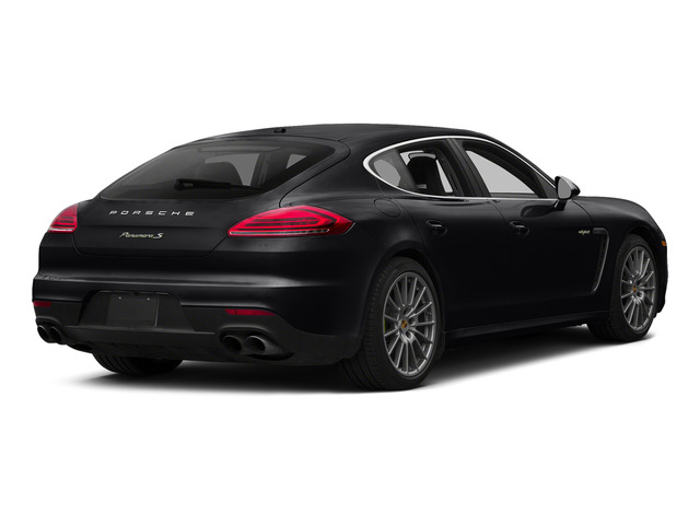 Black 2015 Porsche Panamera Pictures Panamera Hatchback 4D S e-Hybrid V6 photos rear view
