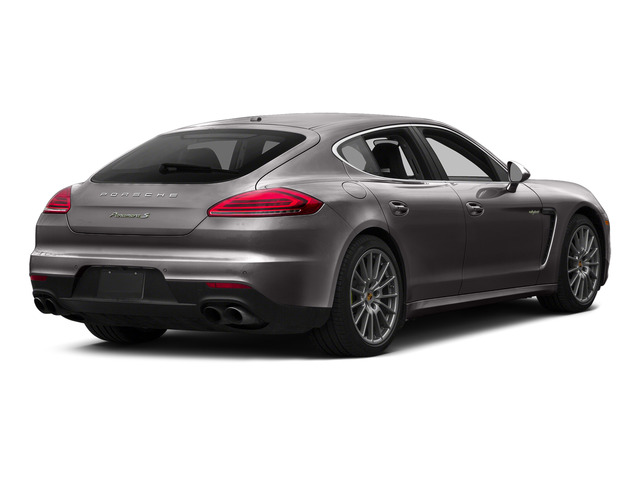 Agate Gray Metallic 2015 Porsche Panamera Pictures Panamera Hatchback 4D S e-Hybrid V6 photos rear view