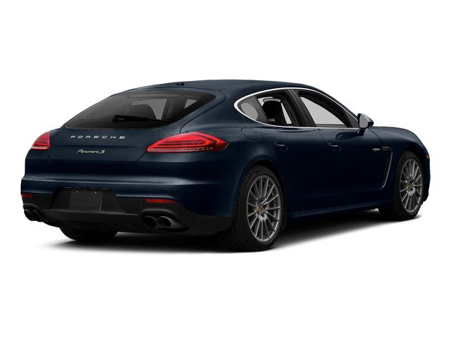 Yachting Blue Metallic 2015 Porsche Panamera Pictures Panamera Hatchback 4D S e-Hybrid V6 photos rear view