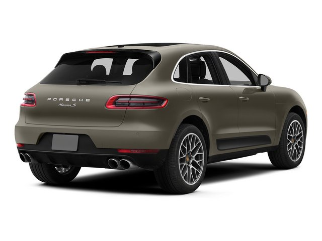Palladium Metallic 2015 Porsche Macan Pictures Macan Utility 4D AWD V6 Turbo photos rear view