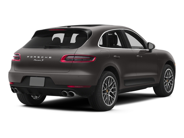 Agate Gray Metallic 2015 Porsche Macan Pictures Macan Utility 4D AWD V6 Turbo photos rear view