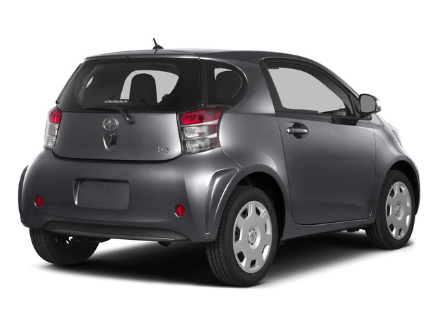 Magnetic Gray Metallic 2015 Scion iQ Pictures iQ Hatchback 3D I4 photos rear view