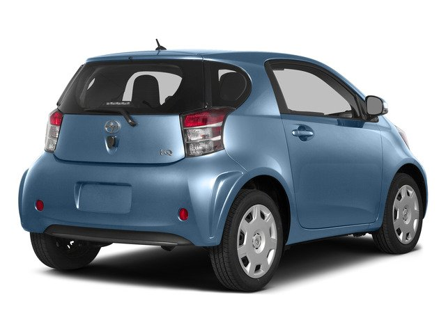 Pacific Blue Metallic 2015 Scion iQ Pictures iQ Hatchback 3D I4 photos rear view