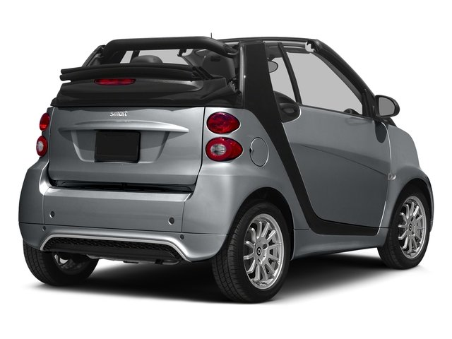 Gray Matte 2015 smart fortwo Pictures fortwo Convertible 2D Passion I3 photos rear view