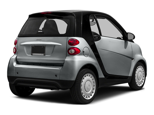 Silver Metallic 2015 smart fortwo Pictures fortwo Coupe 2D Passion I3 photos rear view