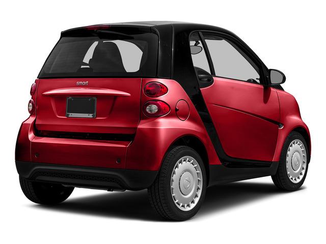 Rally Red 2015 smart fortwo Pictures fortwo Coupe 2D Passion I3 photos rear view