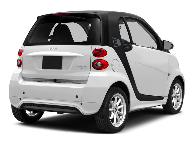 Crystal White 2015 smart fortwo electric drive Pictures fortwo electric drive Coupe 2D Electric photos rear view
