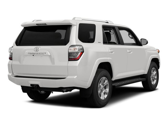 Super White 2015 Toyota 4Runner Pictures 4Runner Utility 4D Trail Edition 4WD V6 photos rear view