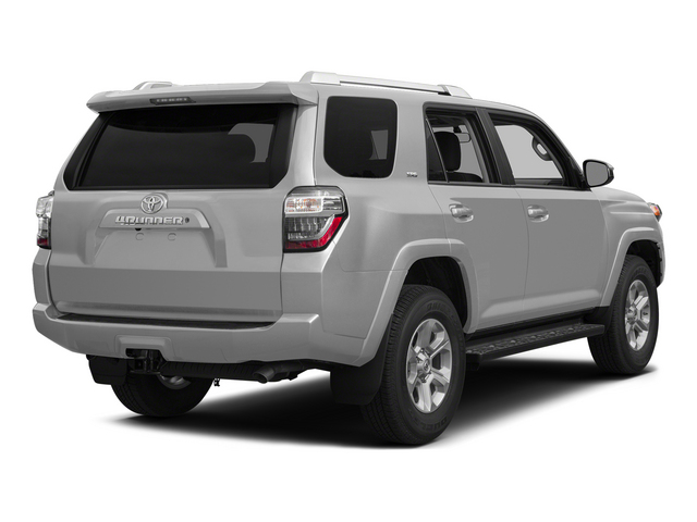 Classic Silver Metallic 2015 Toyota 4Runner Pictures 4Runner Utility 4D Trail Edition 4WD V6 photos rear view