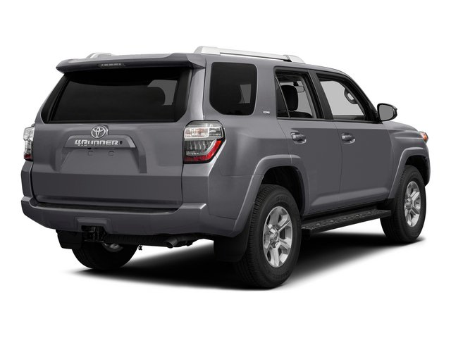 Magnetic Gray Metallic 2015 Toyota 4Runner Pictures 4Runner Utility 4D Trail Edition 4WD V6 photos rear view
