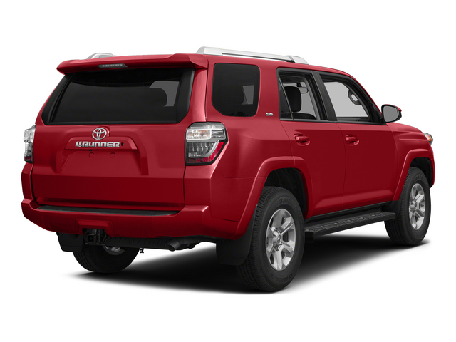 Barcelona Red Metallic 2015 Toyota 4Runner Pictures 4Runner Utility 4D Trail Edition 4WD V6 photos rear view