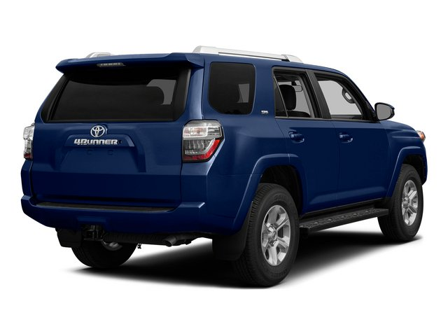Nautical Blue Pearl 2015 Toyota 4Runner Pictures 4Runner Utility 4D Trail Edition 4WD V6 photos rear view