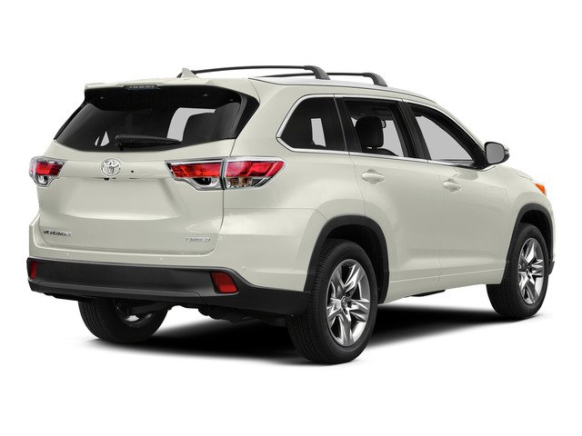 Blizzard Pearl 2015 Toyota Highlander Pictures Highlander Utility 4D LE 2WD I4 photos rear view