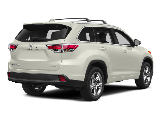 Blizzard Pearl 2015 Toyota Highlander Pictures Highlander Utility 4D Limited 2WD V6 photos rear view