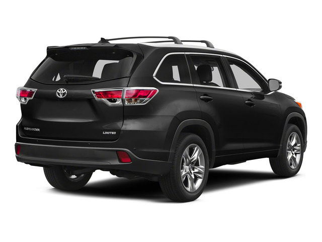 Attitude Black Metallic 2015 Toyota Highlander Pictures Highlander Utility 4D LE 2WD I4 photos rear view